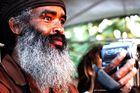 Un sage Ethiopien au festival reggae Garance