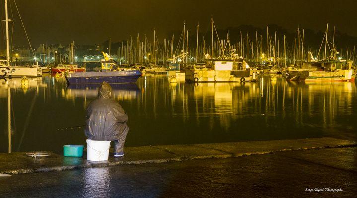 Un soir d'Automne au bord de l'eau