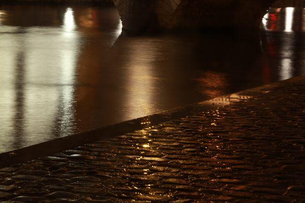 Un soir de pluie.
