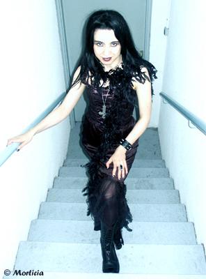 un soir de soirée gothique