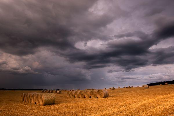 Un soir d'été, orageux...