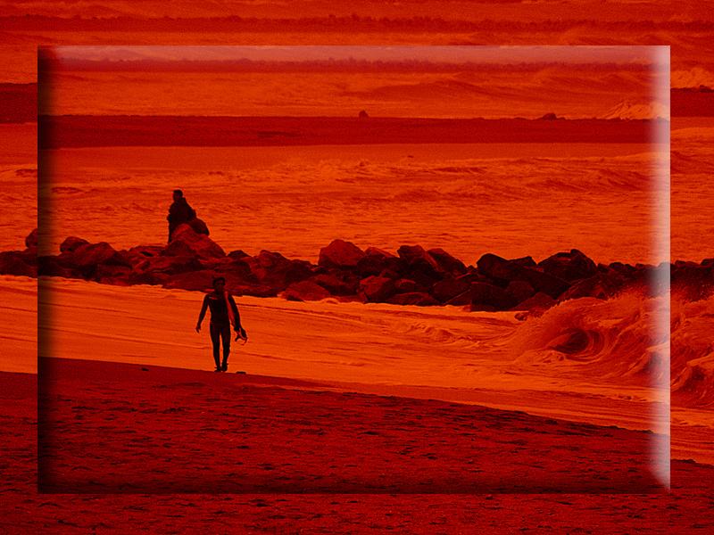 un surfista en Marte