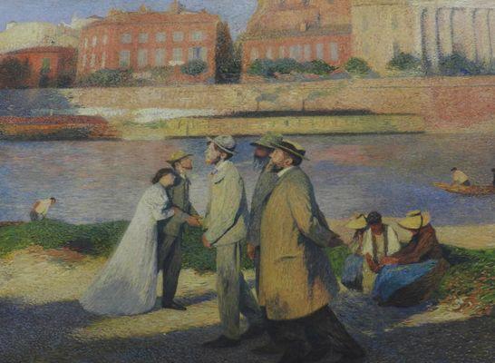 un tableau à la mairie de toulouse