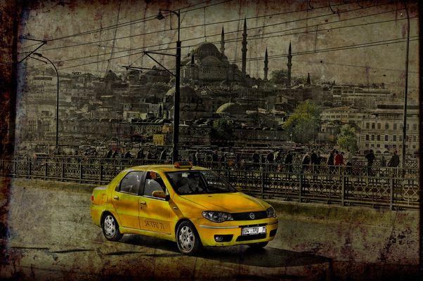 Un taxi à ISTANBUL