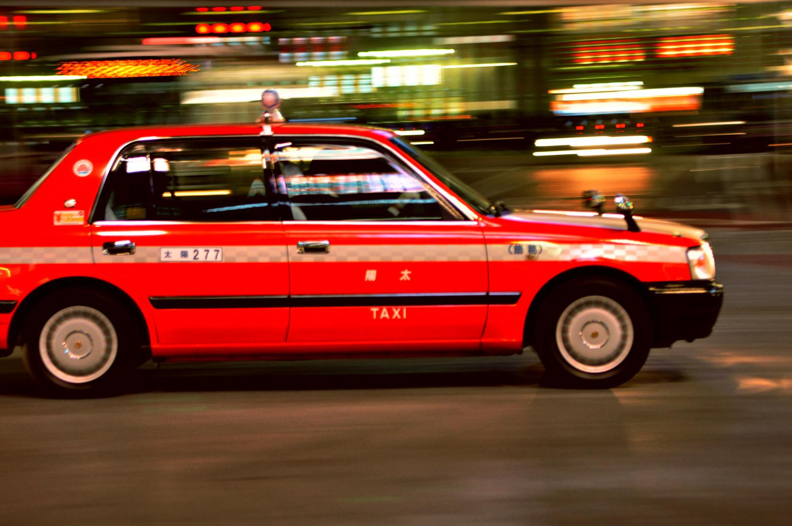 Un Taxi dans Tokyo