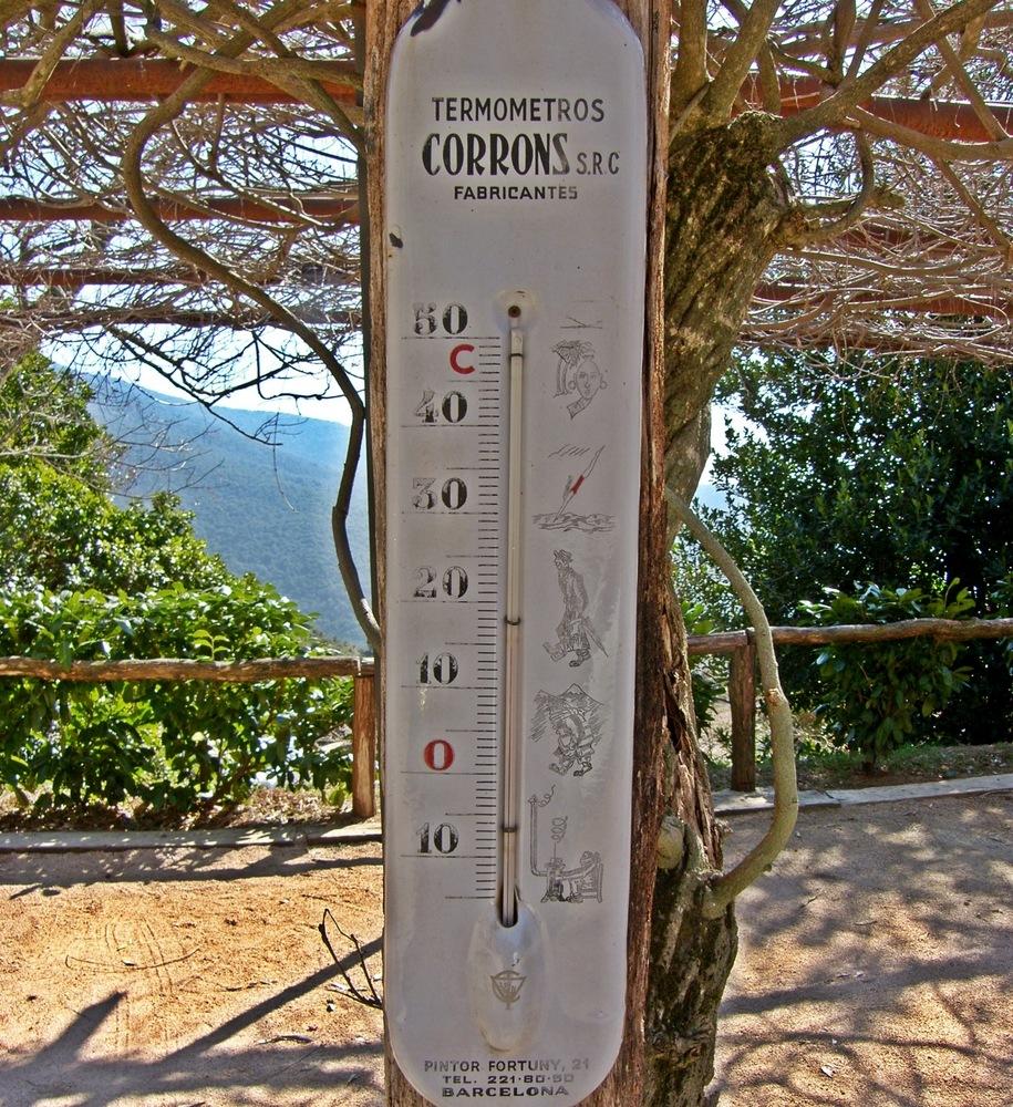 Un termómetro muy antiguo
