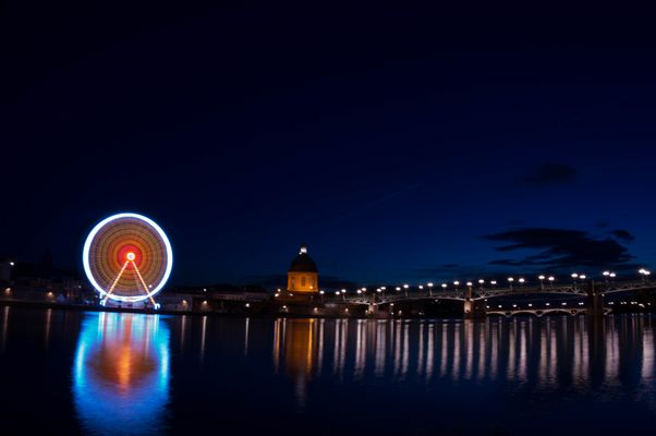 Un tour de roue dans le ciel de Toulouse