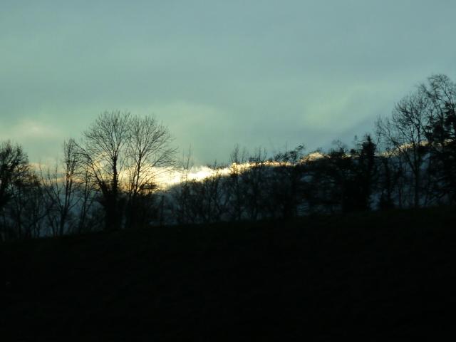 un tracé lumière