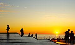 un tramonto