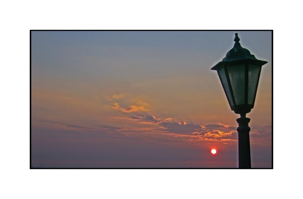 Un tramonto a Frascati