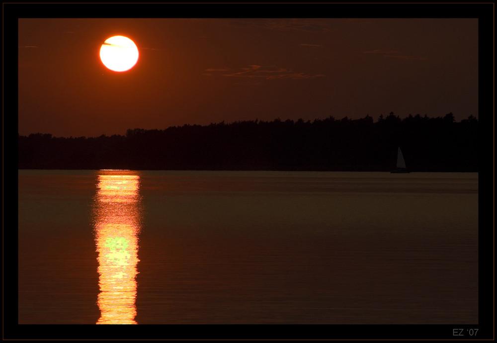 Un tramonto classico