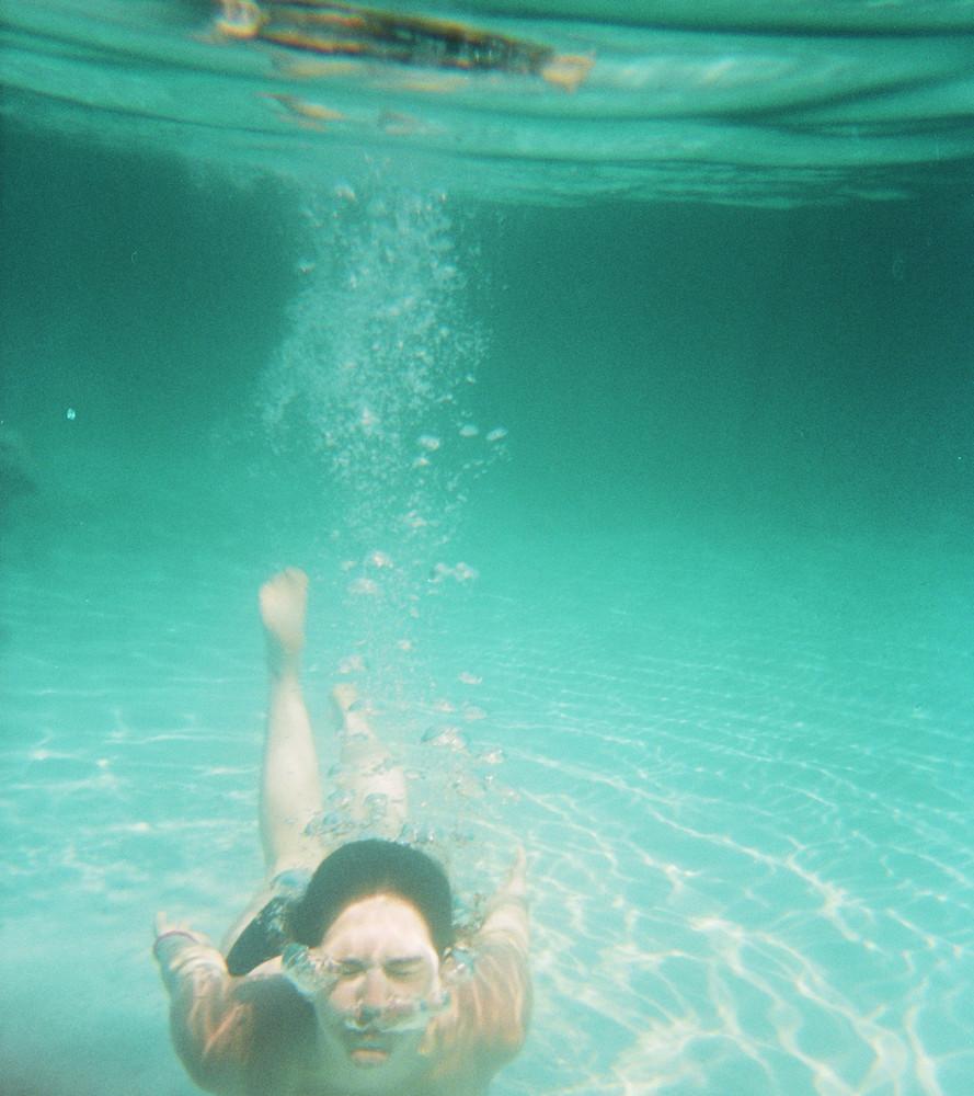 Un Tuffo dove l'acqua è più blu....