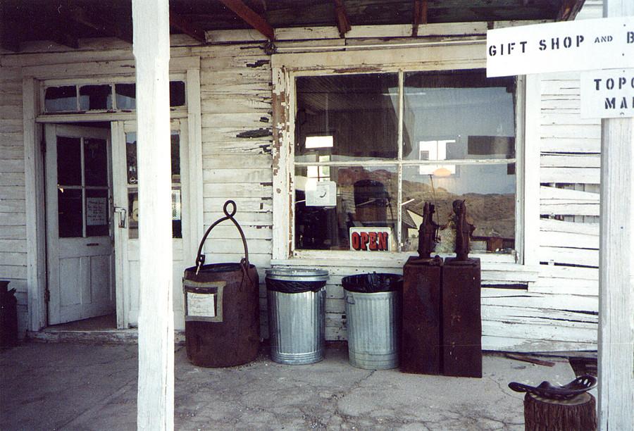 Un vecchio negozietto nel Nevada