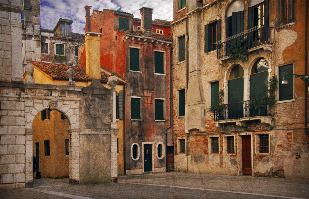 un vecchio scorcio veneziano....