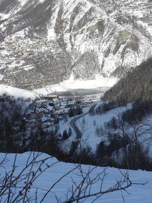 un village en montagne