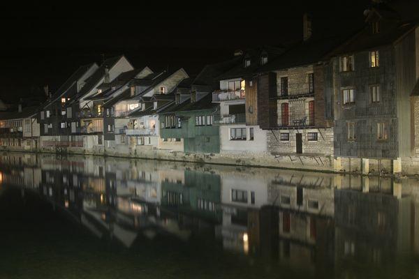 Un village sur l'eau !