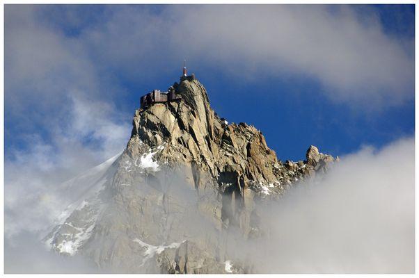 un voyage en haut de l aiguille ....à 3777 m