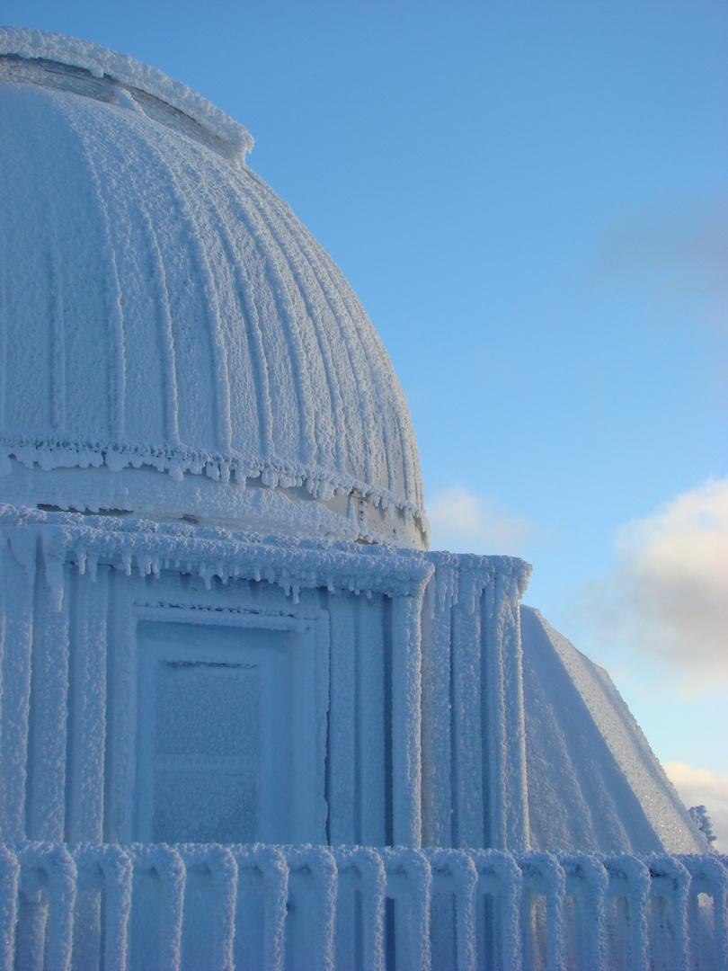 Un vrai hiver Québécois.