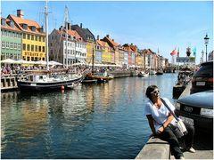 Una bruna XXXL a Copegnaga