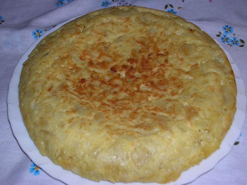 una buena tortilla espanola
