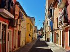 una calle bohemia