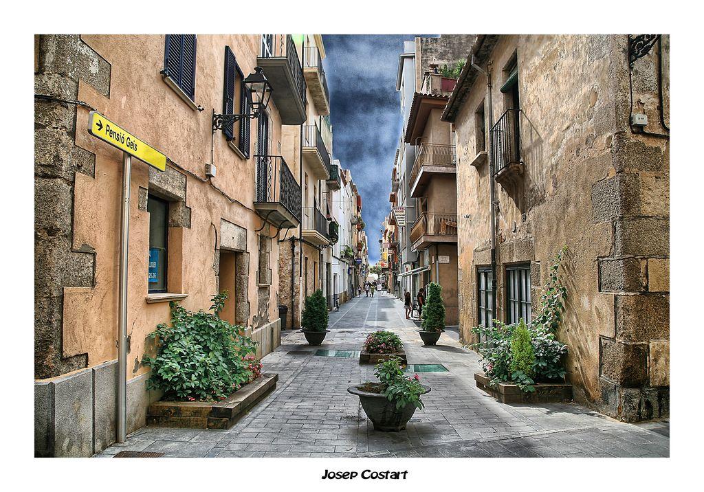 Una calle de mi pueblo
