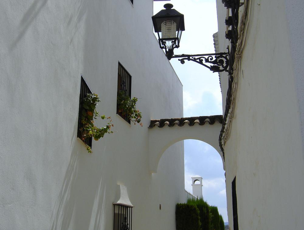 Una calle de Priego de Cordoba