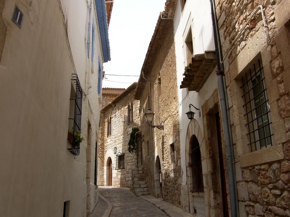 Una calle de Sitges