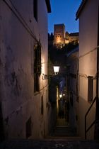 Una calleja del Albaycin