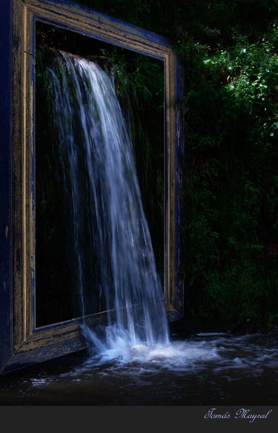 Una Cascada para Enmarcar-Para MANEL SANCHEZ