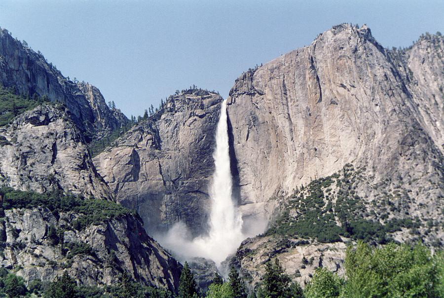 Una cascata impressionante