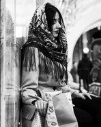 Una chica de Azerbaiyán