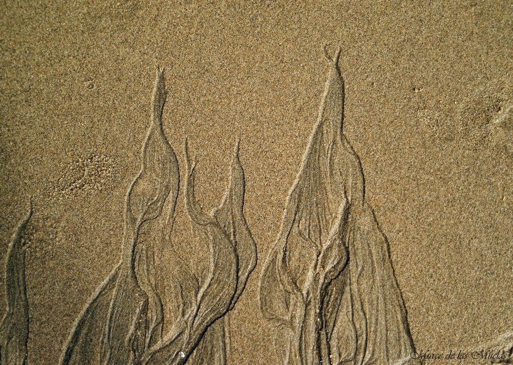 ...una de arena...