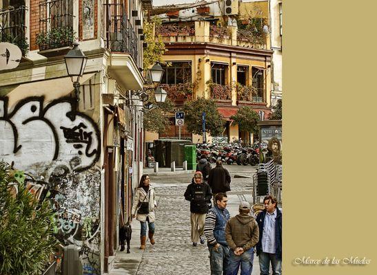 ...una esquina de Madrid...