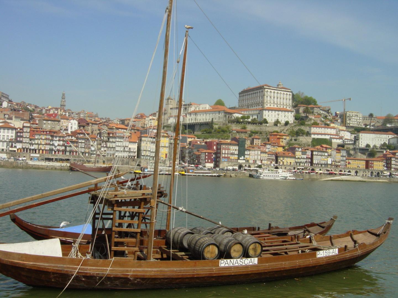 Una foto de paisaje con gran recuerdo en Oporto
