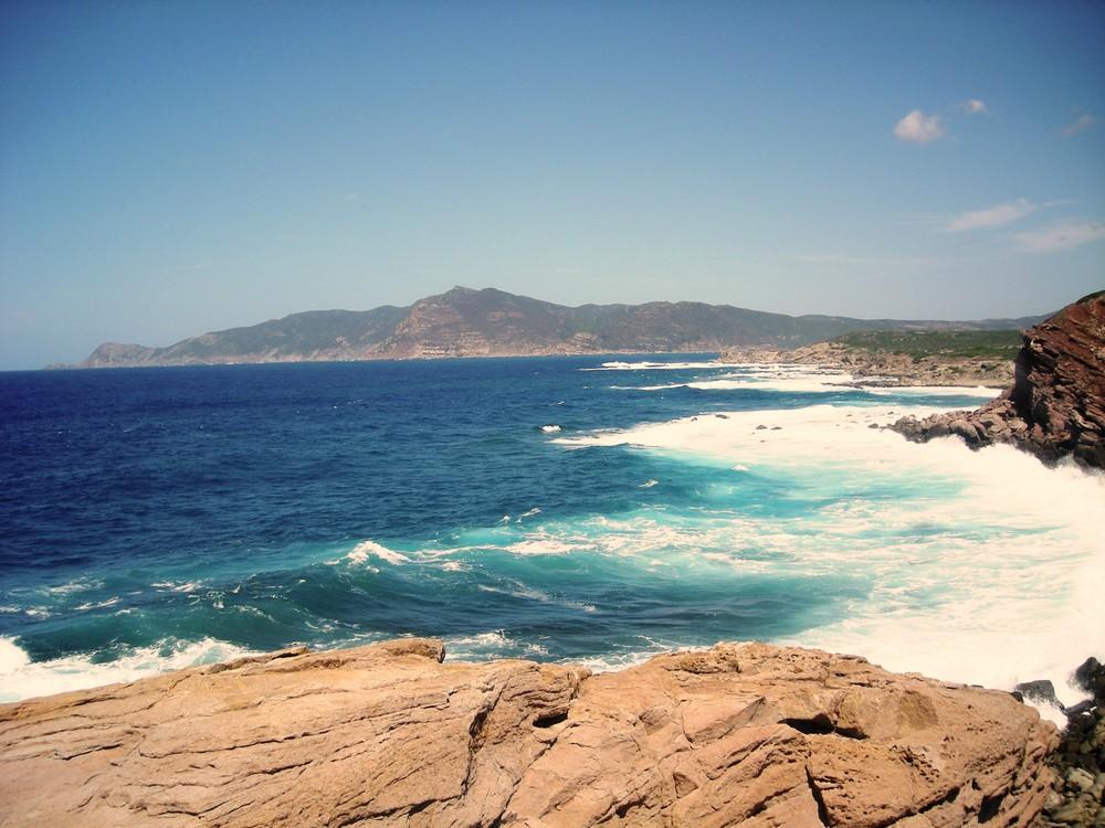 Una giornata di maestrale in Sardegna