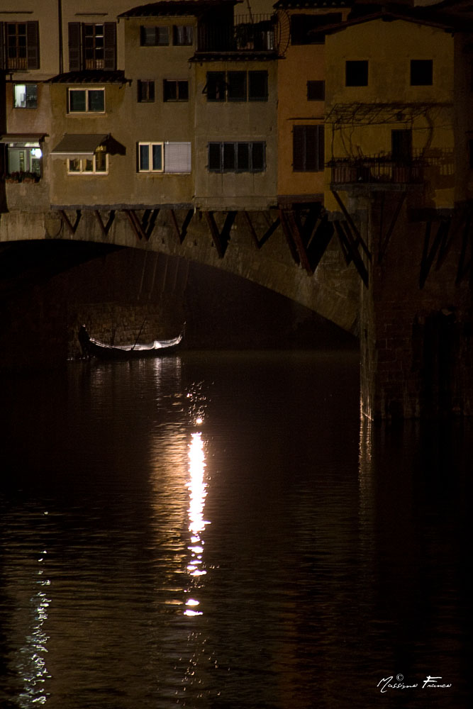 Una gondola a Firenze