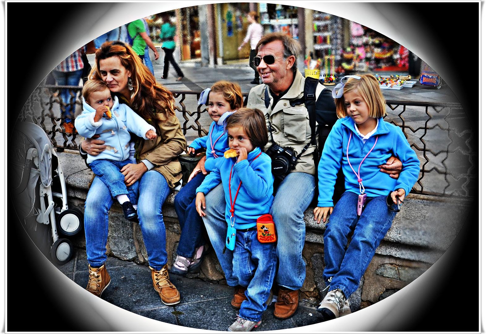 Una gran familia perfecta!