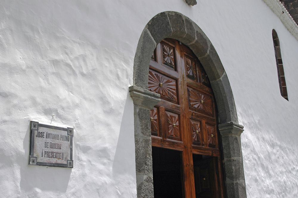 Una Iglesia de La Palma.