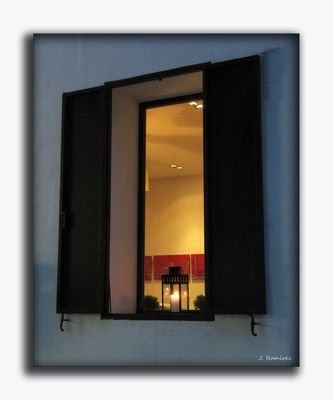 Una luz en la ventana
