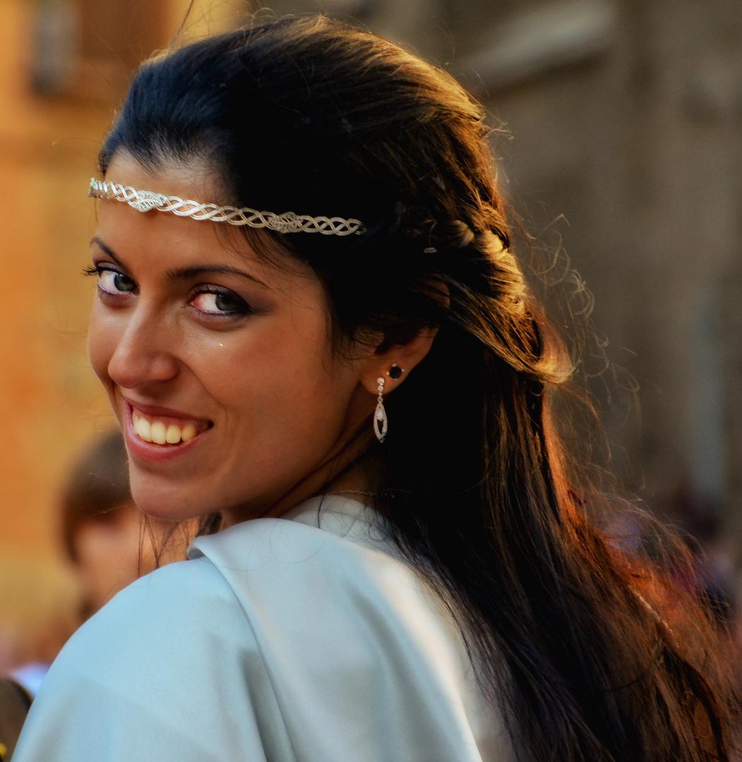 Una novia encantadora