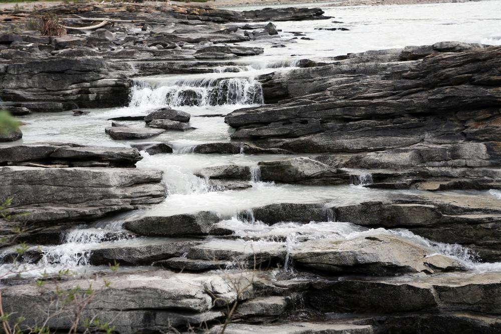 Una scalinata per l'acqua