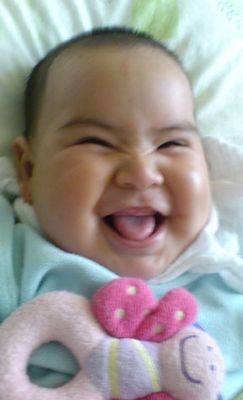 Una sonrisa dulce