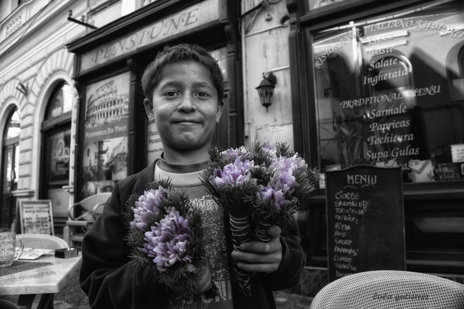 """Una sonrisa y unas flores para el maestro """"Va por tí Carlos"""""""
