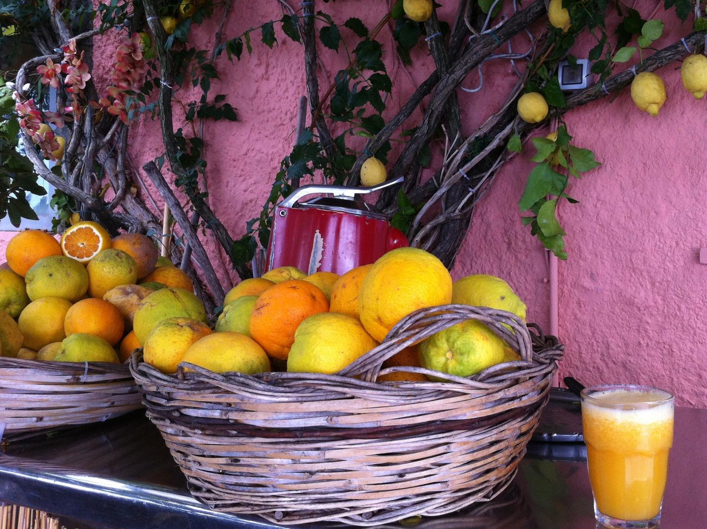 una spremuta d'arancia per favore.....