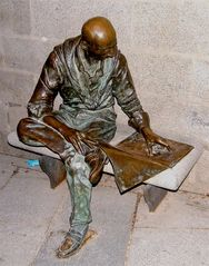 Una Statua Di Madrid