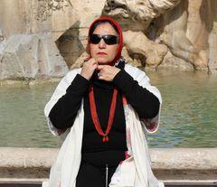 ...una straniera a Roma