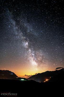 una valle stellata