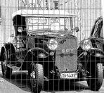 una vecchia auto, tecnologie allora incredibili