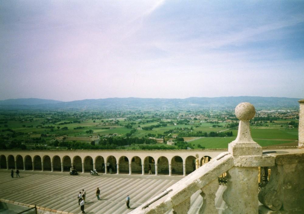 Una Veduta Dalla Chiesa Di S.Franceso D'Assisi